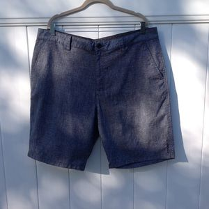 O'Neill men's heather navy blue shorts sz 40